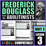 How did Frederick Douglass and others give power to the ab