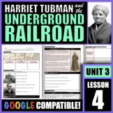 How did Harriet Tubman help slaves escape on the Undergrou