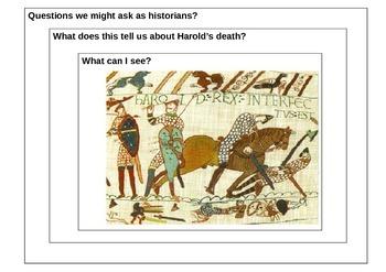 How did King Harold die 1066 - Vision Frame
