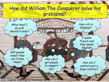 How did King William take control of England after the Battle of Hastings?