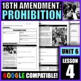 How did Prohibition impact life in America during the 1920s?