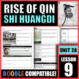 How did Qin Shi Huangdi become the first emperor of China?