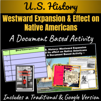 How did Westward Expansion affect Native Americans? A powerpoint & DBQ Activity
