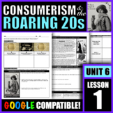"""How did consumerism affect American society during the """"Ro"""