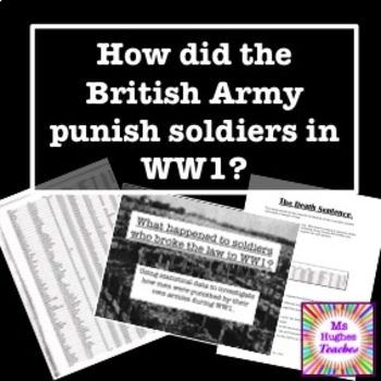 How did the British Army punish deserters in the First World War? Death Penalty