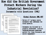 How did the British Government Protect Workers During the Industrial Revolution?