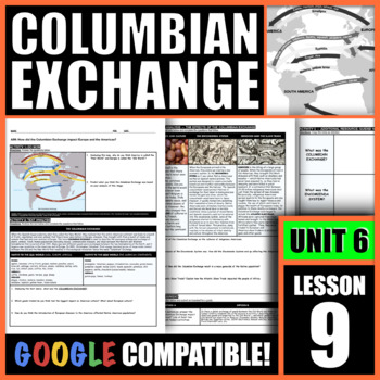 How did the Columbian Exchange impact Europe and the Americas?