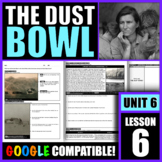 How did the Dust Bowl in the Great Plains affect Americans