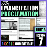 How did the Emancipation Proclamation affect slavery and t