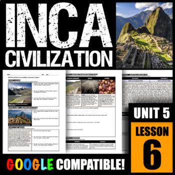 How did the Incas establish a successful civilization?
