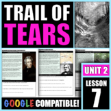 How did the Indian Removal Act lead to the Trail of Tears?