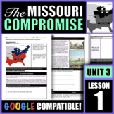 How did the Missouri Compromise further divide the North a