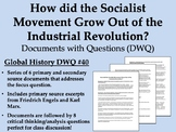 How did the Socialist Movement Grow Out of the Industrial Revolution?