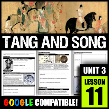 How did the Tang and Song Dynasties impact Chinese culture and innovation?