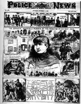 How did the press increase peoples' fascination with Jack the Ripper in 1888?