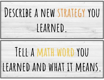 How did you grow as a Mathematician today?