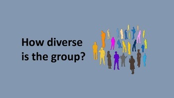 How diverse is the group?