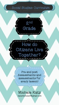 How do Citizens Live together social studies curriculum? Unit 3