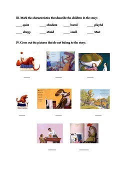 How do Dinosaurs Say Goodnight? SET OF 3 ACTIVITIES