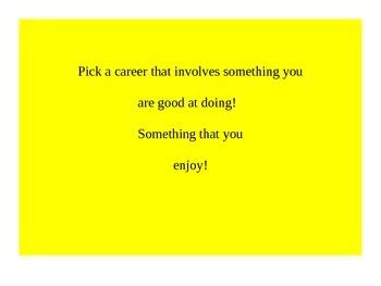 How do I Choose a Career?
