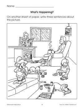 How do I Write a Sentence?