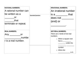 How do I determine if a number is rational or irrational F