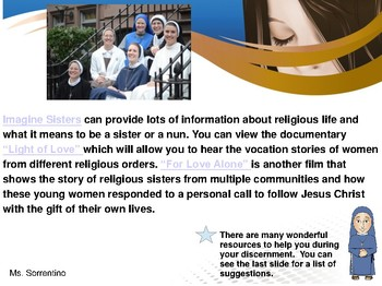 How do I discern religious life? New & Improved Vocation Lesson for Young Women