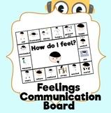 How do I feel? AAC Emotions Communication Board