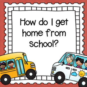 """How do I get Home From School?"" After School Transportation Tags"