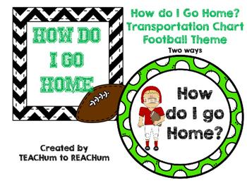 How do I go Home? Football Theme 2 ways