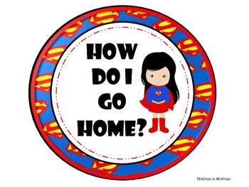 How do I go home? - Superhero theme