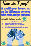 How do I pay? Learning the difference between credit, debi