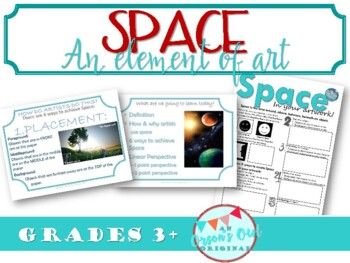 How to create SPACE in your drawings! An element of Art