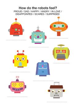 How do the robots feel?