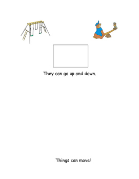 How do things move? Mini book
