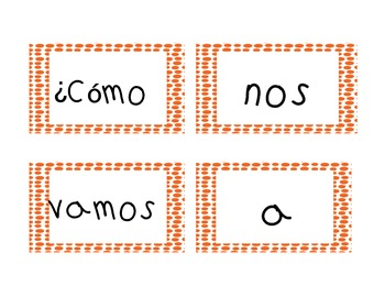How do we go to school? A graphing activity in English and Spanish!