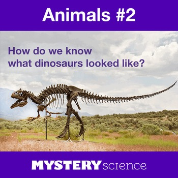 Animals NGSS:Dinosaur Fossil Evidence ❤ BUNDLE:Activity, R