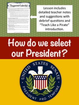 How do we select a President?  (Electoral College, and Ele