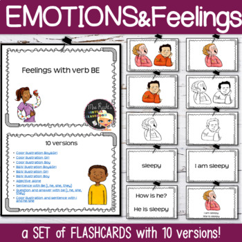 Emotions and Feelings Flashcards