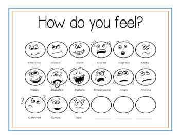 How do you feel? Faces
