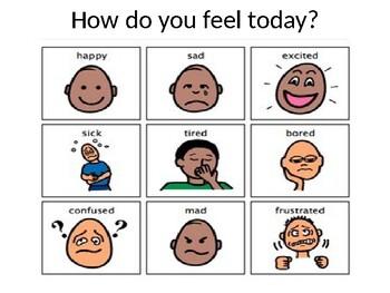 How do you feel? Visual