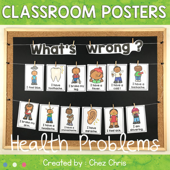 What's wrong ? Health Problems Posters
