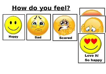 How do you feel poster- Emotional behaviour self regulation