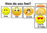 How do you feel poster- Emotional behaviour self regulation