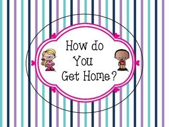 How do you go home? Transportation Chart - Clip System