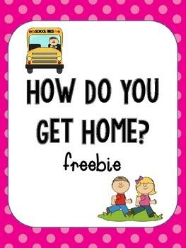 How do you get home?  Freebie