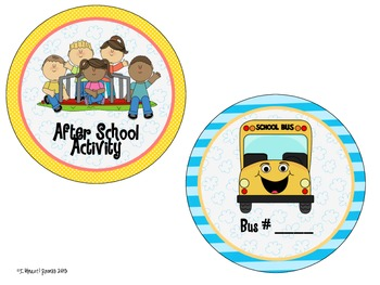 How do you get home? My Many Colored Classroom Theme