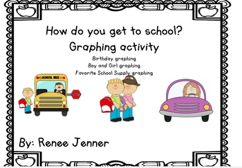 How do you get to school? Graphing Activity