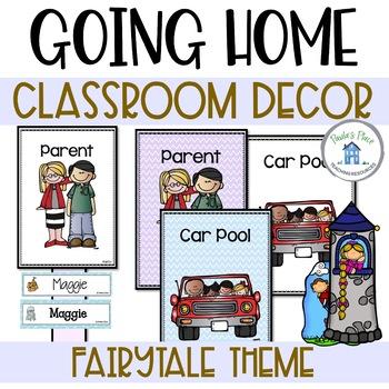 How do you go home? Fairy Tale Theme