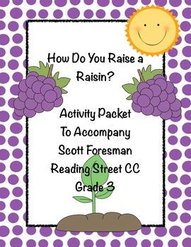 How do you raise a raisin? Scott Foresman CC Gr.3 Reading Street Activity Packet